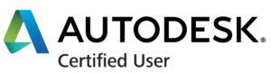 Autodesk Certified User Logo