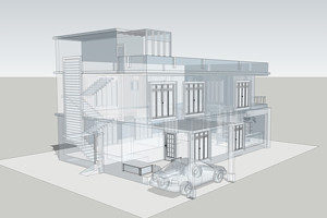 Progetto in BIM 3D di un palazzo