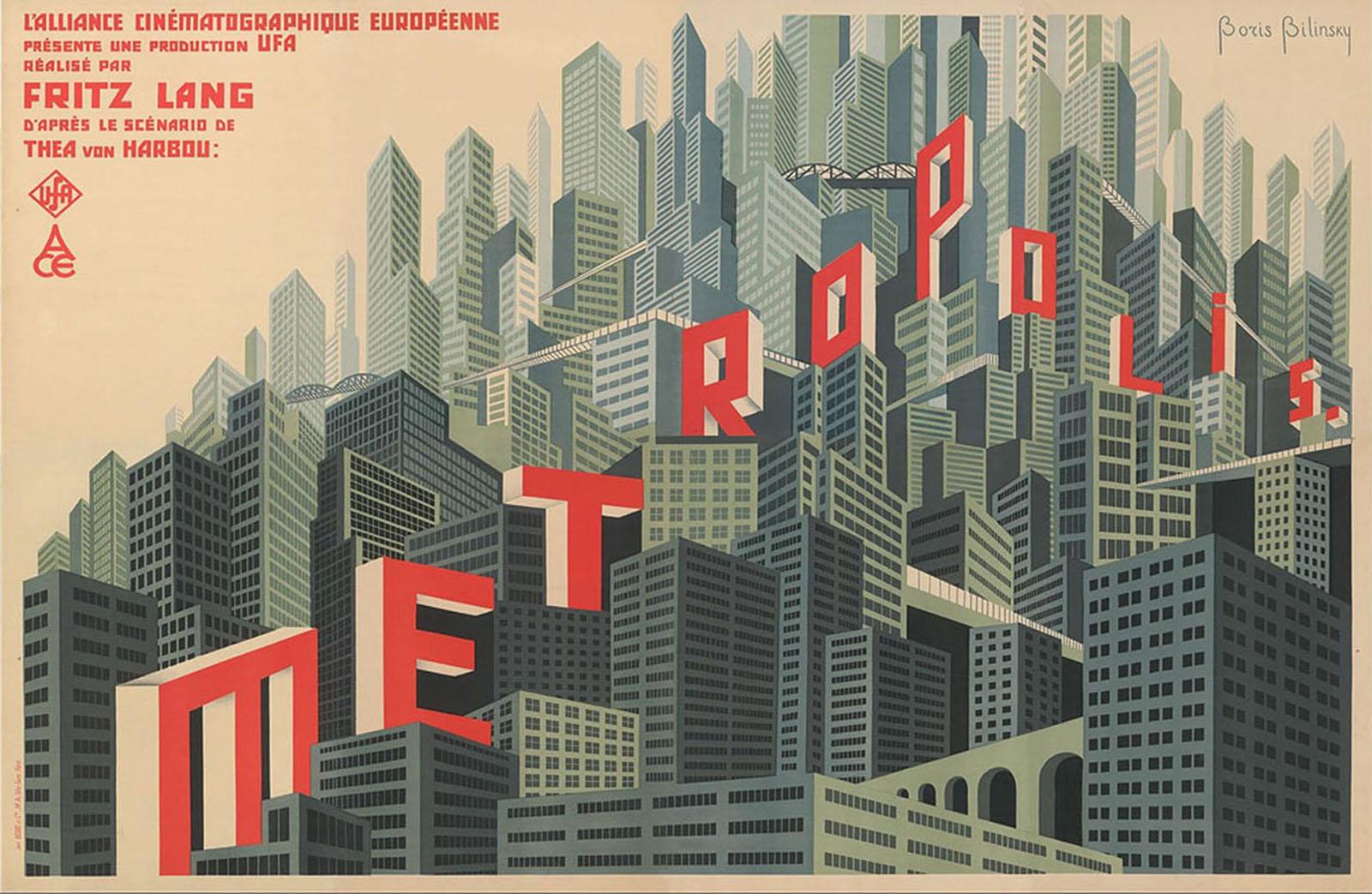 poster di Metropolis