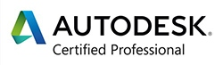 Logo Autodesk Certified Professional