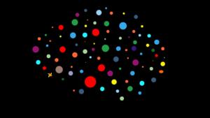 Immagine stilizzata delle connessioni neurali di un cervello umano