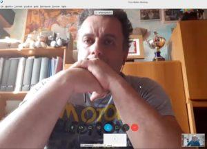 Raffaele Gulla in aula virtuale