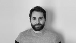 foto profilo in bianco e nero di Lorenzo Pede, BIM Consultant