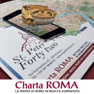 mappa in realtà aumentata di Charta ROMA