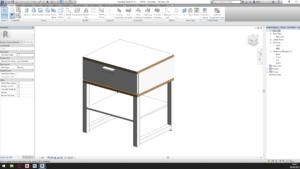 progetto modellazione BIM mobile IKEA in Revit